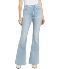 lee high waist flare jeans, size 31 in alpine at nordstrom