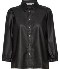 nubelen shirt långärmad skjorta svart nümph