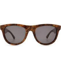 bottega veneta bottega veneta bv1001s bronze sunglasses