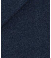 abito da uomo su misura, drago, flanella blu cobalto natural stretch, autunno inverno | lanieri