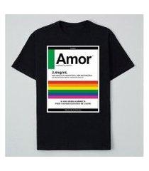 camiseta reserva ink amor masculina