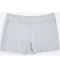 loft striped rivera shorts with 4 inch inseam