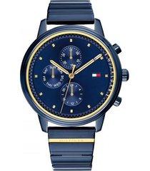 reloj azul tommy hilfiger 1781893 - superbrands