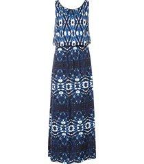 abito lungo batik (blu) - bodyflirt