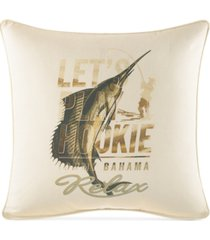 """tommy bahama home nador 20"""" square decorative pillow"""