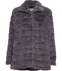 novel outerwear faux fur grijs tiger of sweden jeans