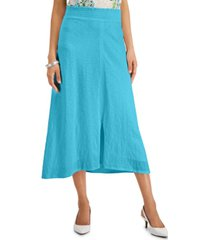 jm collection solid maxi skirt, created for macy's