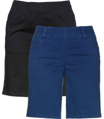 shorts elasticizzati con cinta comoda (pacco da 2) () - bpc bonprix collection
