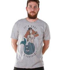camiseta bandup! bdp clothing thug mermaid masculina