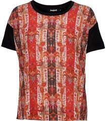 ts lombok t-shirts & tops short-sleeved svart desigual