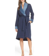 women's ugg duffield ii robe, size x-large - blue