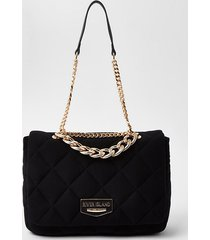 river island womens jersey quilted underarm shoulder bag