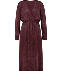 aaiko asena dress red rood