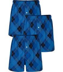 boxershorts, 3-pack g gregory blå