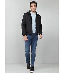 jaqueta bolso zíper tng masculina