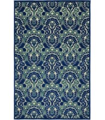 "kaleen a breath of fresh air fsr107-22 navy 5' x 7'6"" area rug"