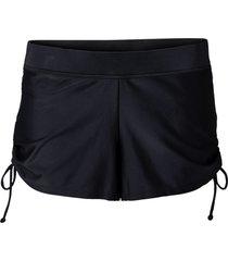 pantaloncino da bagno con slip integrato (nero) - bpc selection