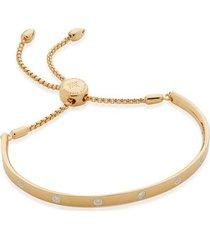 gold fiji gem diamond chain bracelet diamond