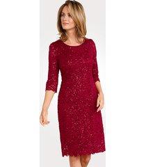 jurk mona rood