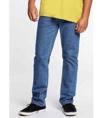 straight jeans volcom solver denim