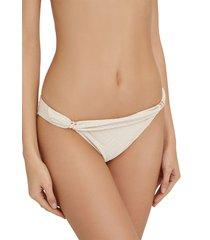 pantie bikini con detalles metálicos multicolor women secret 5995906 97xs