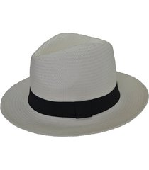 chapéu chapelaria vintage panamá branco