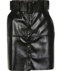 msgm belted mini skirt