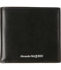 alexander mcqueen classic logo wallet