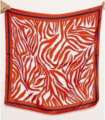 pañuelo rojo  nuevas historias cebra