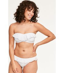 bohemia underwire padded bandeau bikini top