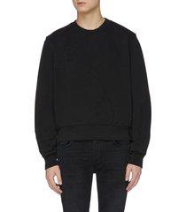'shotgun' distressed sweatshirt