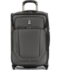 "travelpro crew versapack 20"" 2-wheel global softside carry-on"