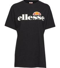 el albany t-shirts & tops short-sleeved svart ellesse