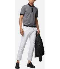 boss men's phillipson 57 slim-fit cotton polo shirt