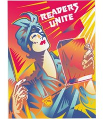 "david chestnutt readers unite canvas art - 27"" x 33.5"""