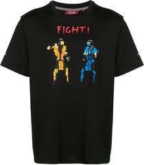 mostly heard rarely seen 8-bit fight t-shirt - white