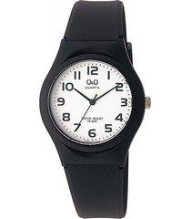 reloj q&q vq86j004y negro caucho hombre