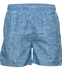 full bloom outline swim shorts c.f. badshorts blå gant