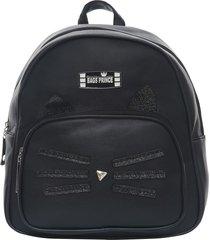 mochila negra bags prince