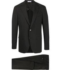 boglioli two-piece formal suit - black