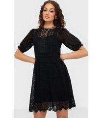 river island pretty stitch tea dress mini loose fit