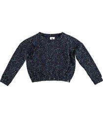 garcia korte warme dikke oversized sweater donkerblauw