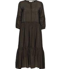 scotia dress jurk knielengte groen inwear