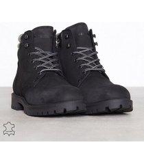 jack & jones jfwstoke nubuck boot mono black noo kängor svart