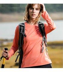 el deporte al aire libre de las mujeres camisetas senderismo