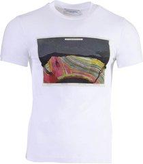 anthropocene graphic print t-shirt