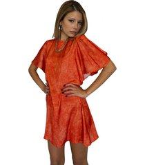 vestido naranja meet me