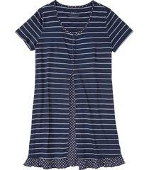camicia da notte (blu) - bpc bonprix collection
