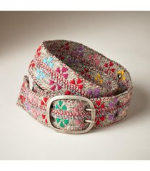 women's felted wool belt