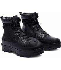 botas de pato converse x ambush ctas black